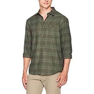Under Armour Mens Lightweight Flannel Shirt Sz S